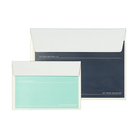 2 Pack Document Wallets