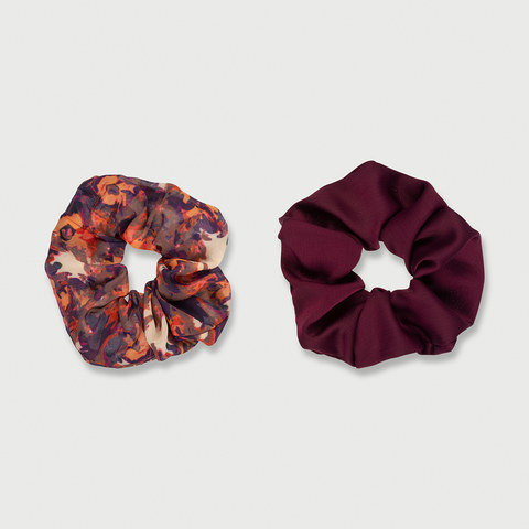 2 Pack Oversized Scrunchies