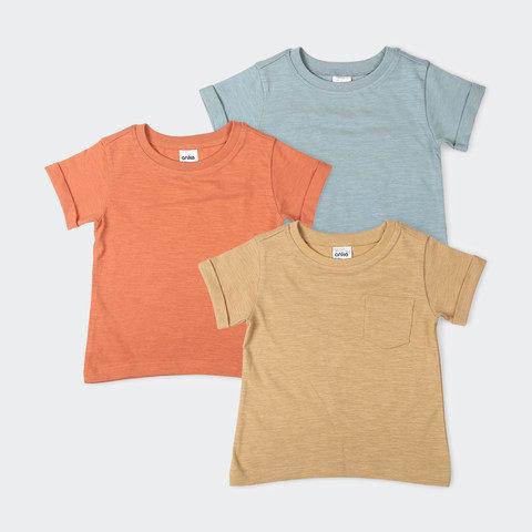 3 Pack Short Sleeve Tee