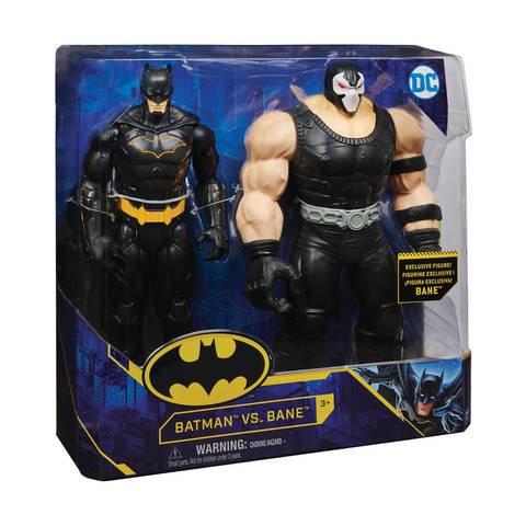 2 Pack Batman vs Bane 12in. Action Figure Set