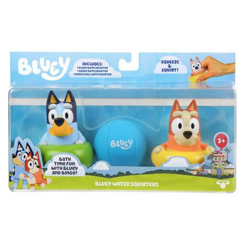 3 Pack Bluey Bath Squirters