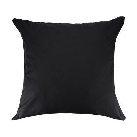 225 Thread Count European Pillowcase - Black