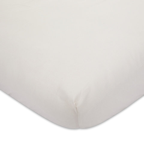225 Thread Count Fitted Sheet - Double Bed, Oatmeal