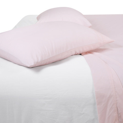 225 Thread Count Sheet Set - Double Bed, Pink