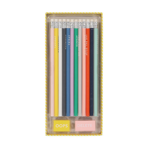 14 Piece Pencil Set