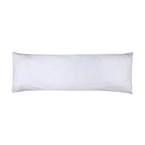 180 Thread Count Body Pillowcase - White