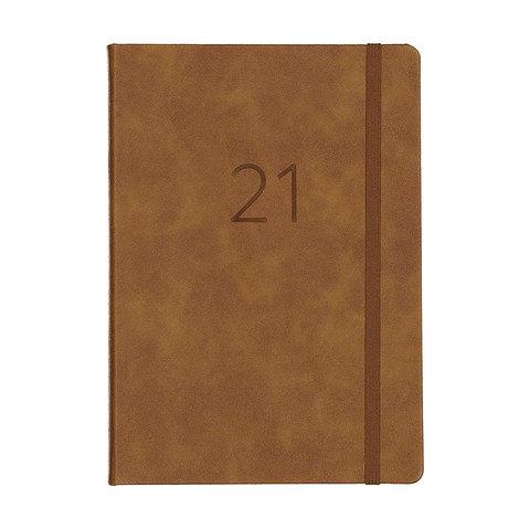 2021 DTP A5 Diary - Tan