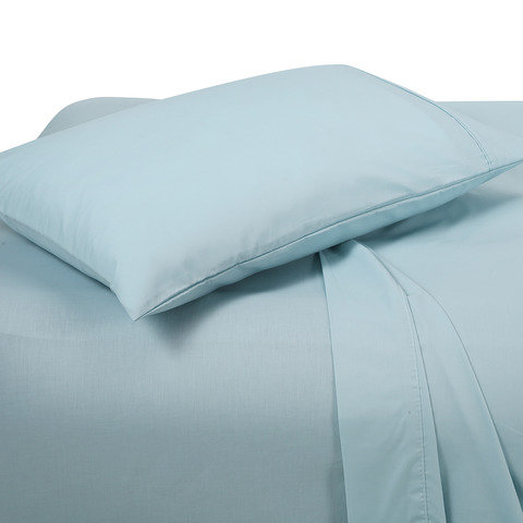 225 Thread Count Sheet Set - Single Bed, Glacier