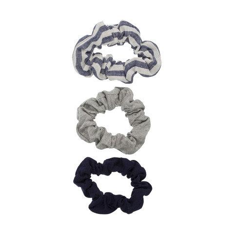 3 Pack Scrunchies - Marle & Navy