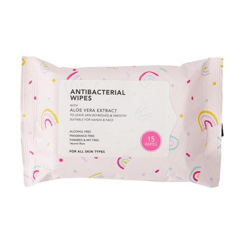 15 Pack Antibacterial Wipes