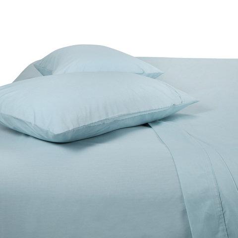 225 Thread Count Sheet Set - King Bed, Glacier
