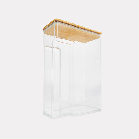 3.5L Food Container with Bamboo Lid
