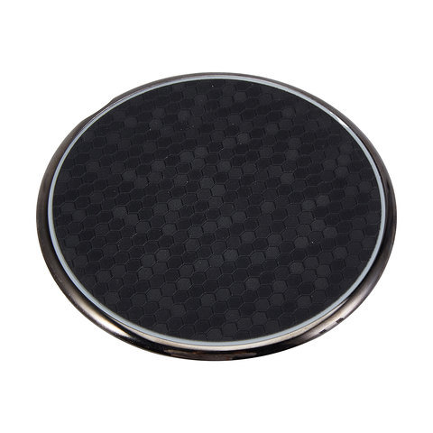 15W Honeycomb Wireless Charger - Black
