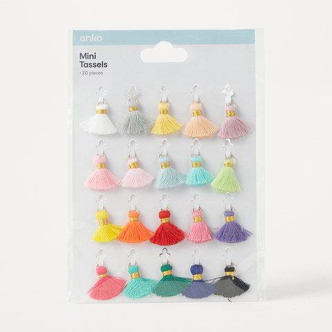 20 Mini Tassels