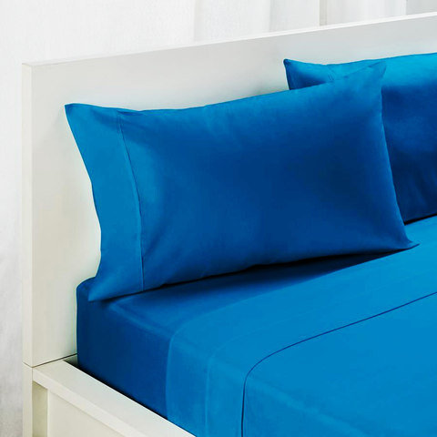 225 Thread Count Sheet Set - Double Bed, Teal