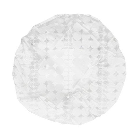2 Pack White Shower Caps