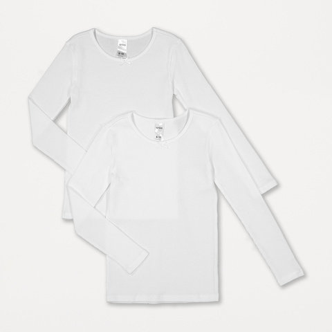2 Pack Long Sleeve Waffle Thermal Top