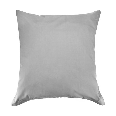 225 Thread Count European Pillowcase - Grey
