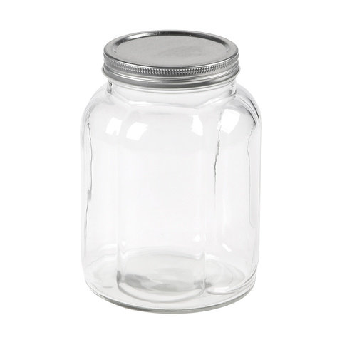 1L Fluted Jar