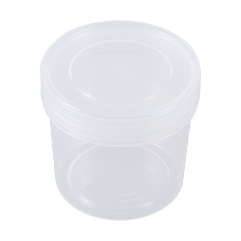 3 Pack 500ml Round Food Containers