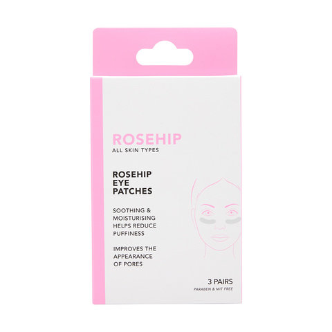 3 Pack Rosehip Eye Patches