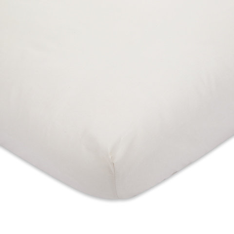 225 Thread Count Fitted Sheet - King Bed, Oatmeal