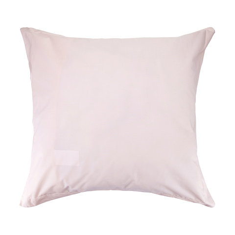 225 Thread Count European Pillowcase - Pink