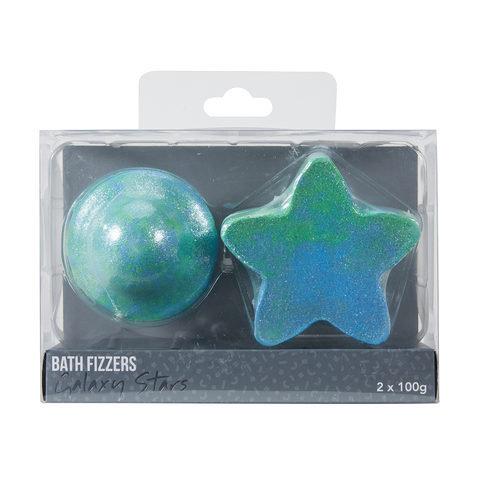 2 Pack Galaxy Stars Bath Fizzers