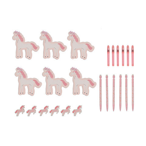 24 Piece Stationery Set - Unicorn