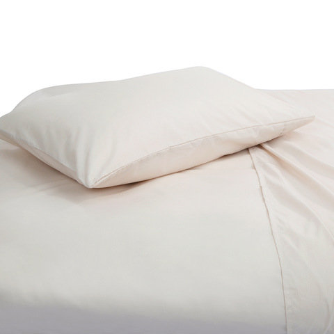 225 Thread Count Sheet Set - Single Bed, Oatmeal