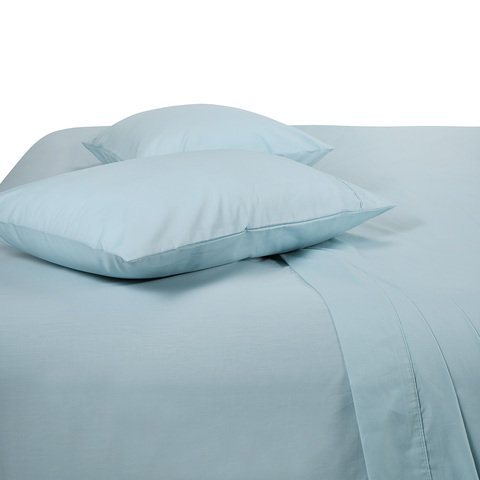 225 Thread Count Sheet Set - Queen Bed, Glacier