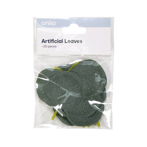 20 Piece Artificial Leaves