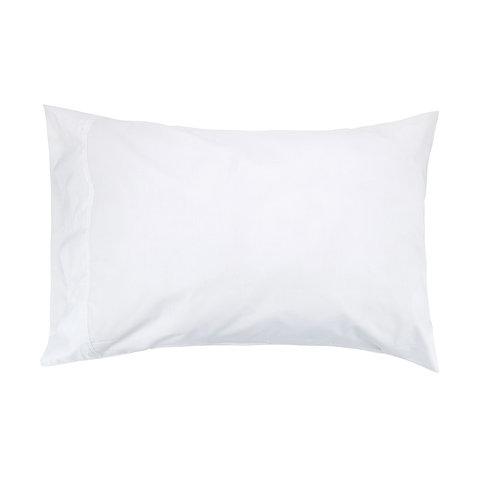 225 Thread Count Standard Pillowcase - White