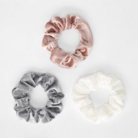 3 Pack Velvet Hair Scrunchies