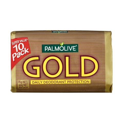 10 Pack Palmolive Gold Soap Bar 90g