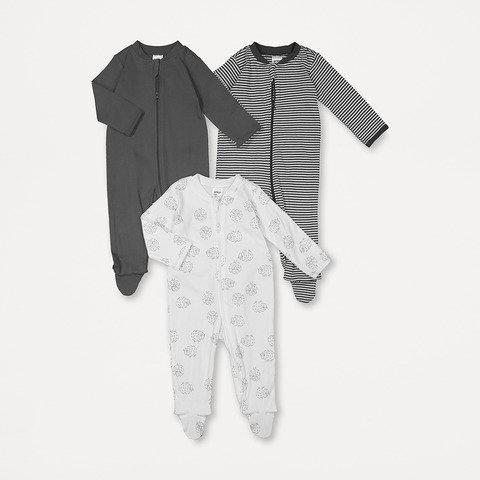 3 Pack Sleepsuit