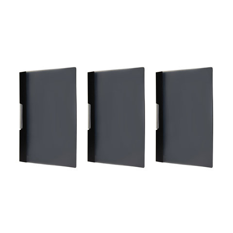 3 Pack Swing Clip File - Black