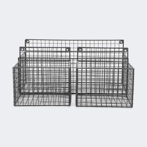 3 Pack Mesh Storage Shelves
