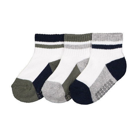 3 Pack Infant Crew Socks
