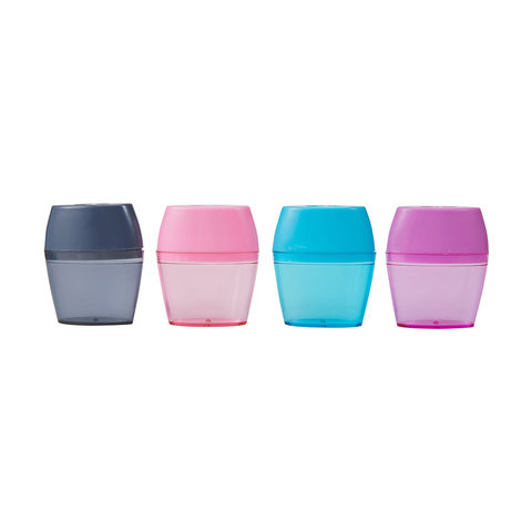 2 Sharpeners Double Hole - Assorted