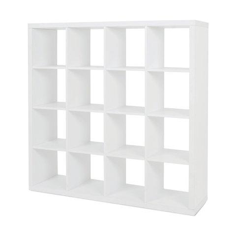 16 Cube Unit White