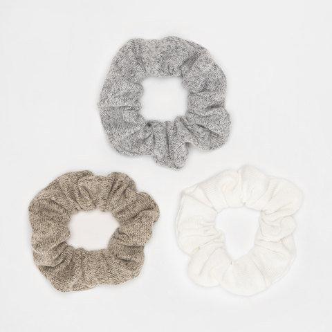3 Pack Soft Touch Hair Scrunchies