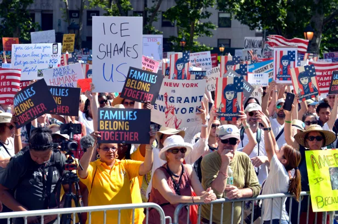 immigration-protest-at-foley-square-and-