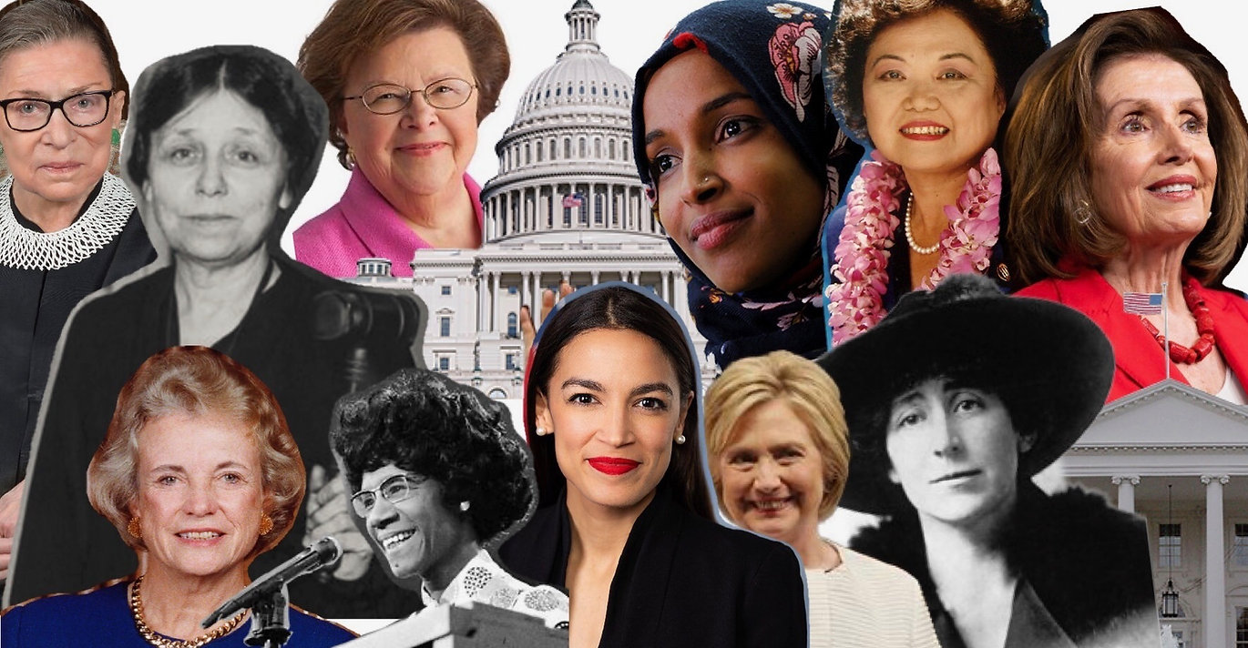 Strong, powerful, and important women in politics