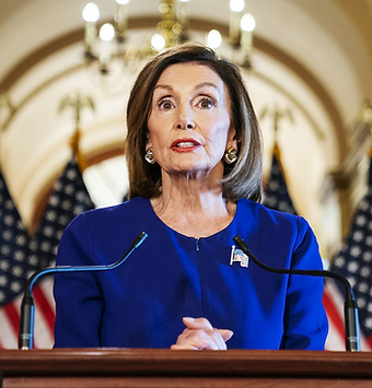 Nancy Pelosi, who is in the House of Representatives