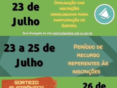 Inscrições Cursos Técnicos Pós-Médio de 14/07 a 22/07