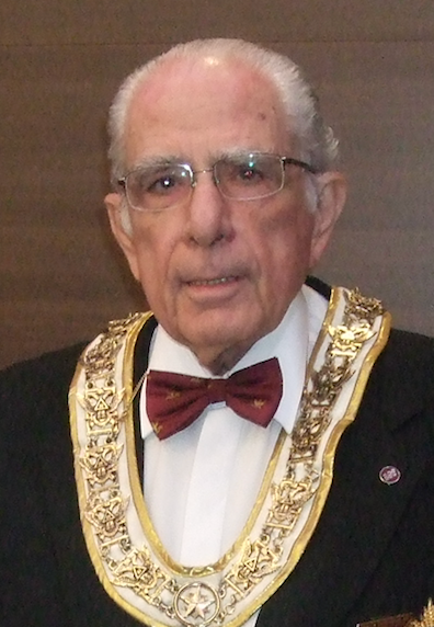 Grand representative of the Mother Supreme Council of the world, Southern Jurisdiction, USA near the