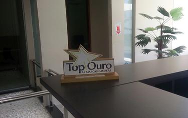 Troféu Top Ouro - Melhor Hotel da Cidade de Afrânio - Topázio Park Hotel