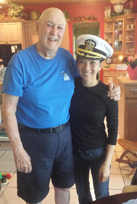George and Lauren navy.jpg