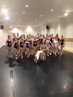 Justine Summers-Edgely, Auditions